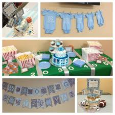 sport themed baby shower sports themed baby shower decorations baby shower ideas gallery