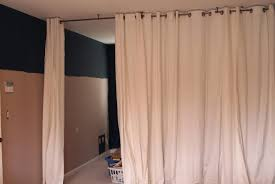 room dividers ideas for studios divider curtain track diy glass