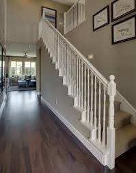 How To Paint A Banister Black How To Stain An Oak Banister Banisters Woods And Staircases