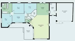 plan de maison 5 chambres plain pied plan maison plain pied 5 chambres unique plan maison individuelle 5