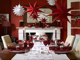 Decorating Dining Table For Christmas With Pictures by Best 25 Christmas Dining Rooms Ideas On Pinterest Rustic Round