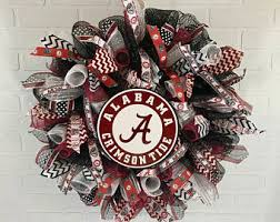 alabama ribbon alabama gifts etsy