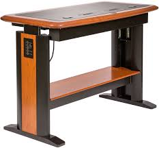 Large Computer Desk Standing Computer Desk Full Caretta Workspace