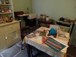 the wartime house kitchen scullery world war ii dress and house