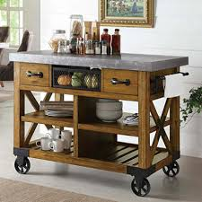 island kitchen carts the serving cart has become a coffee tea bar for us