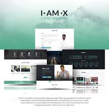 Html Resume Samples by I Am X Freebie Web Resume Template Psd Html On Behance