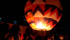 candle balloon paper candle balloons sky lanterns during tanza cavite
