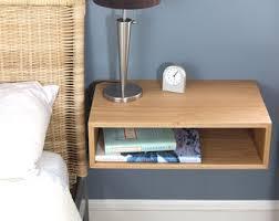 Floating Nightstand Shelf Contemporary Nightstand Floating Nightstand Side Table