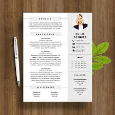 Modern Resume Template Modern Resume Example Creative Resume Cv Psd Template Cmyk