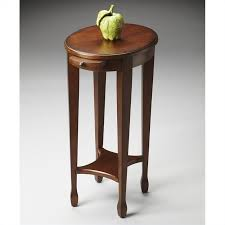 butler accent table butler specialty masterpiece accent table in chestnut burl 1483108