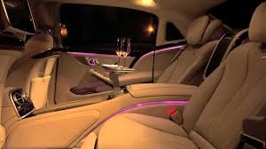 inside maybach 2015 mercedes maybach s 600 amazing interior lighting system youtube