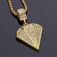 aliexpress buy nyuk mens 39 hip hop jewelry iced out nyuk imitation cz shape pendant necklace hip hop jewelry