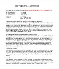 Salon Chair Rental Booth Rental Agreement 6 Free Documents Download In Pdf Word