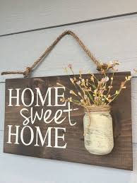 Home Sweet Home Decoration | home sweet home rustic front door sign decor gift outdoor signs