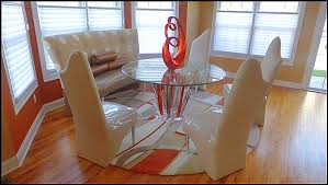 Lucite Dining Room Chairs Custom Contemporary And Modern Dining Rooms Including Chairs