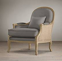 Restoration Hardware Settee Lyon Chair With Burlap Chairs Restoration Hardware