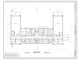 Floor Plan Hospital Second Floor Plan Hospital Buildings No 1 Ellis Island Main