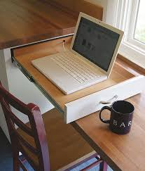 Desk With Pull Out Table 67 Cool Pull Out Kitchen Drawers And Shelves Shelterness