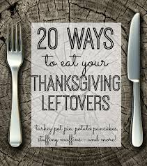 thanksgiving leftovers recipes my and
