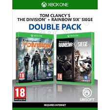 siege xbox one tom clancy s the division rainbow six siege pack xbox one
