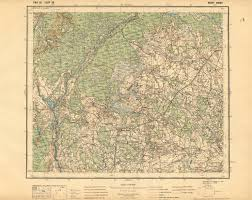 Map Of Lithuania Old Map Of Kotra National Park Surroundings In Poland Nowy Dwor