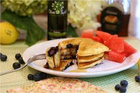 Blueberry Pancake Recipe Olive This U2013 Recipe Lemon Blueberry Pancakes With Lemon Fused