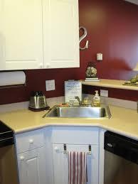 kitchen awesome undermount corner sink corner sink options