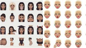 dancing emoji amber rose u0027s muvamoji vs kim kardashian u0027s kimoji how their emoji
