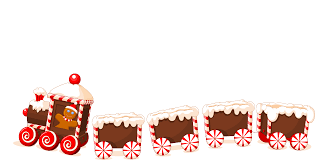 christmas cookies train png clipart download free images in png