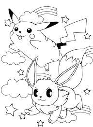 mega pikachu coloring pages free ash christmas pokemon