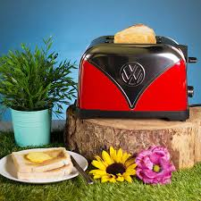 Vw Kitchen Accessories - vw toaster red buy from prezzybox com