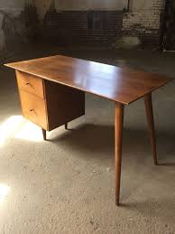 Retro Modern Desk Mid Century Modern Office Desk Drk Architects Desks Joybird Best