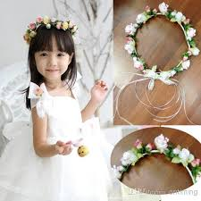 flower girl headbands baby flower headband korean pieces fashion children s