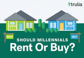 should millennials rent or buy trulia u0027s blog