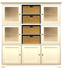 Wooden Storage Closet With Doors Wooden Shelves With Doors Lamdepda Info