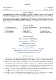 Mechanical Construction Engineer Resume Download Mechanical Project Engineer Sample Resume