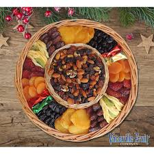 fruit and nut gift baskets vacaville fruit company 40 oz dried fruit nut gift basket