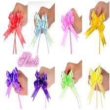 gift wrap ribbon aliexpress buy 300pcs pull flower ribbon bow gift wrap candy