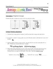 ionic bonding ws 59 chemquest 19 name date hour information