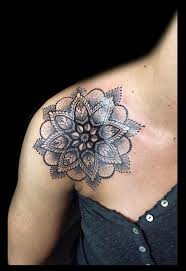 Shoulder Design - best 25 lotus shoulder ideas on mandala