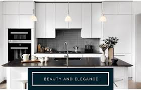 white kitchen cabinets with black quartz 12 black quartz countertops ideas for kitchen counter