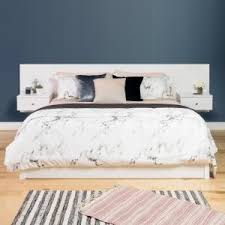 White Floating Nightstand Prepac White Floating Queen Headboard With Nightstands Whhq 0520
