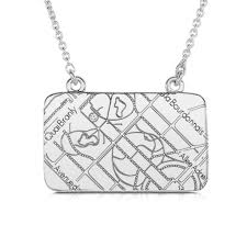 white necklace gold images 14k white gold rectangle map necklace maps by a jaffe jpg