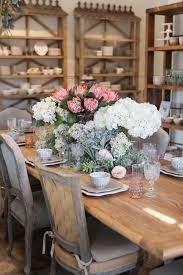 spring tablescape with faux florals u2014 rolling greens nursery u0026 home