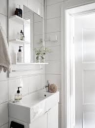 small bathroom white