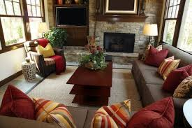 rustic living rooms with fireplaces paint ideas furniture