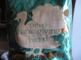 starbucks thanksgiving blend