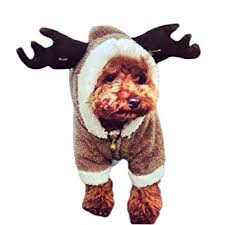dog christmas mixmax pet puppy dog christmas clothes reindeer