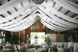 wedding draping fabric gorgeous barn wedding decor on a budget onlinefabricstore net