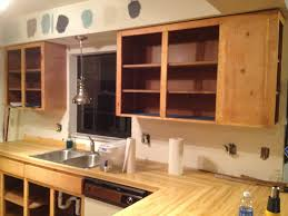 Refacing Oak Kitchen Cabinets Simple Painting Kitchen Cabinets Veneer How To Paint No With